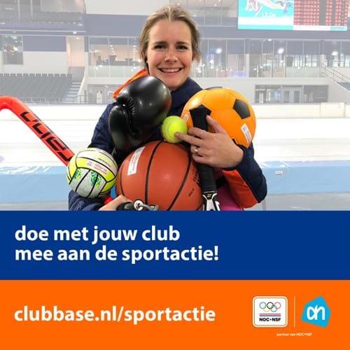 De Nationale Sportweek 2020: zet jouw club in de spotlights!